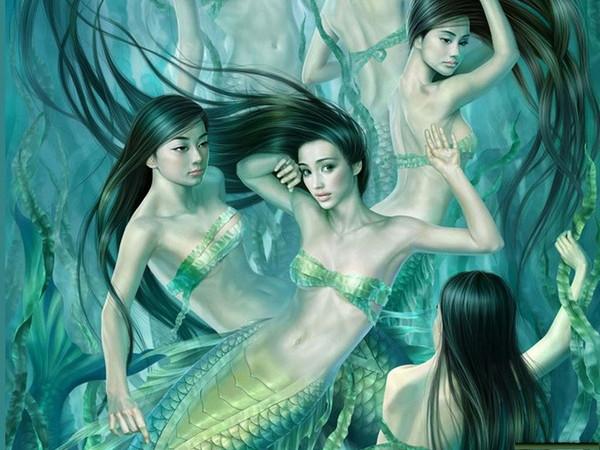 Чудеса под водой.